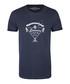 Marine blue pure cotton print T-shirt Sale - DreiMaster Sale