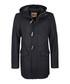 Black wool blend duffle coat Sale - DreiMaster Sale