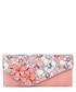 Rio peach floral printed clutch Sale - ruby shoo Sale