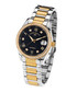 Silver & gold stainless steel watch Sale - andre belfort Sale
