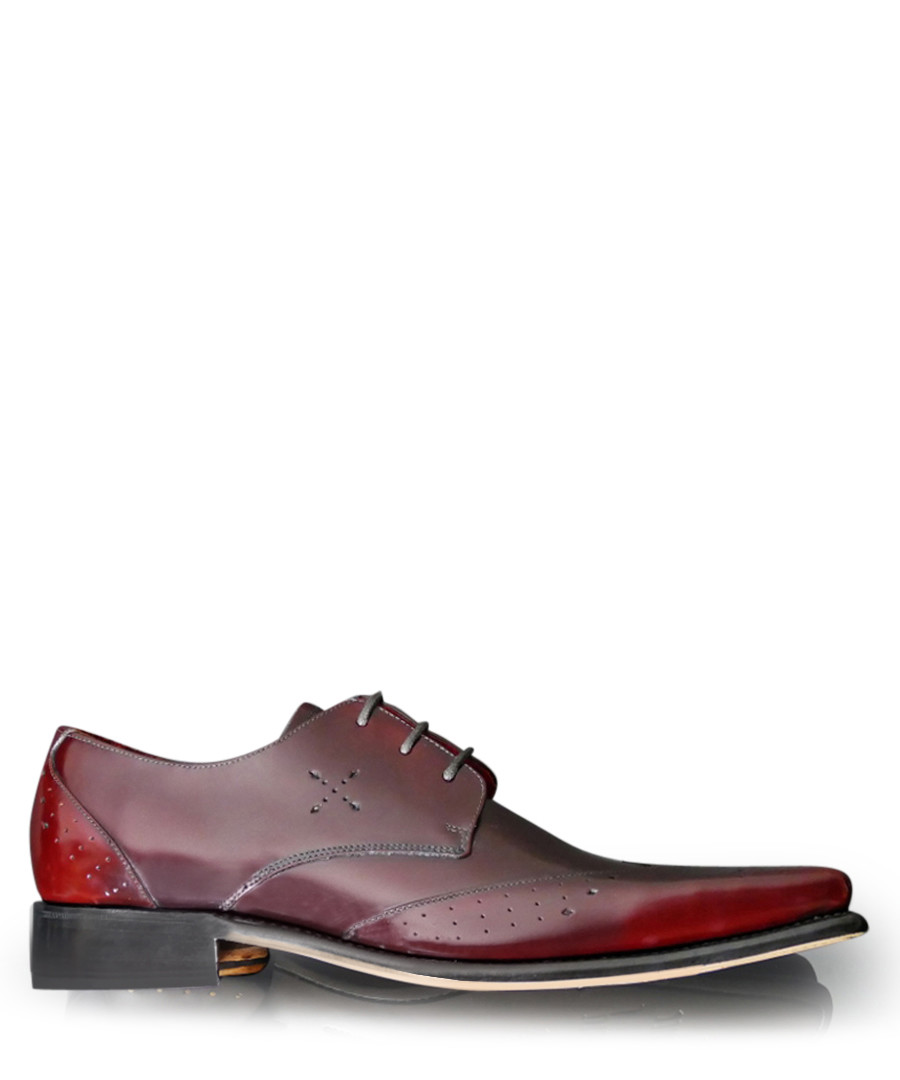 Hemmings Blow Up damson leather shoes Sale - jeffery west