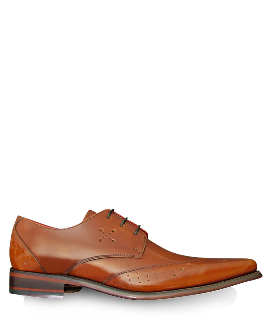 Hemmings Blow Up honey leather shoes Sale - jeffery west