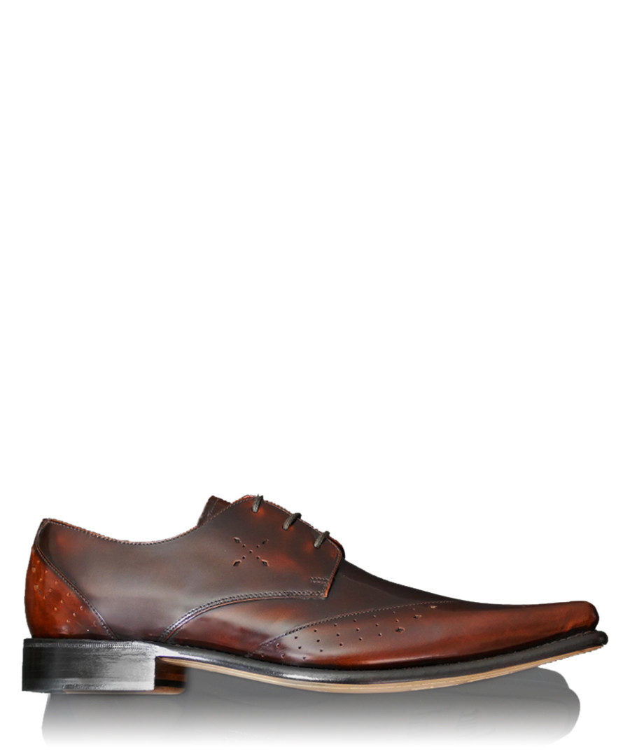 Hemmings Blow Up walnut leather shoes Sale - jeffery west
