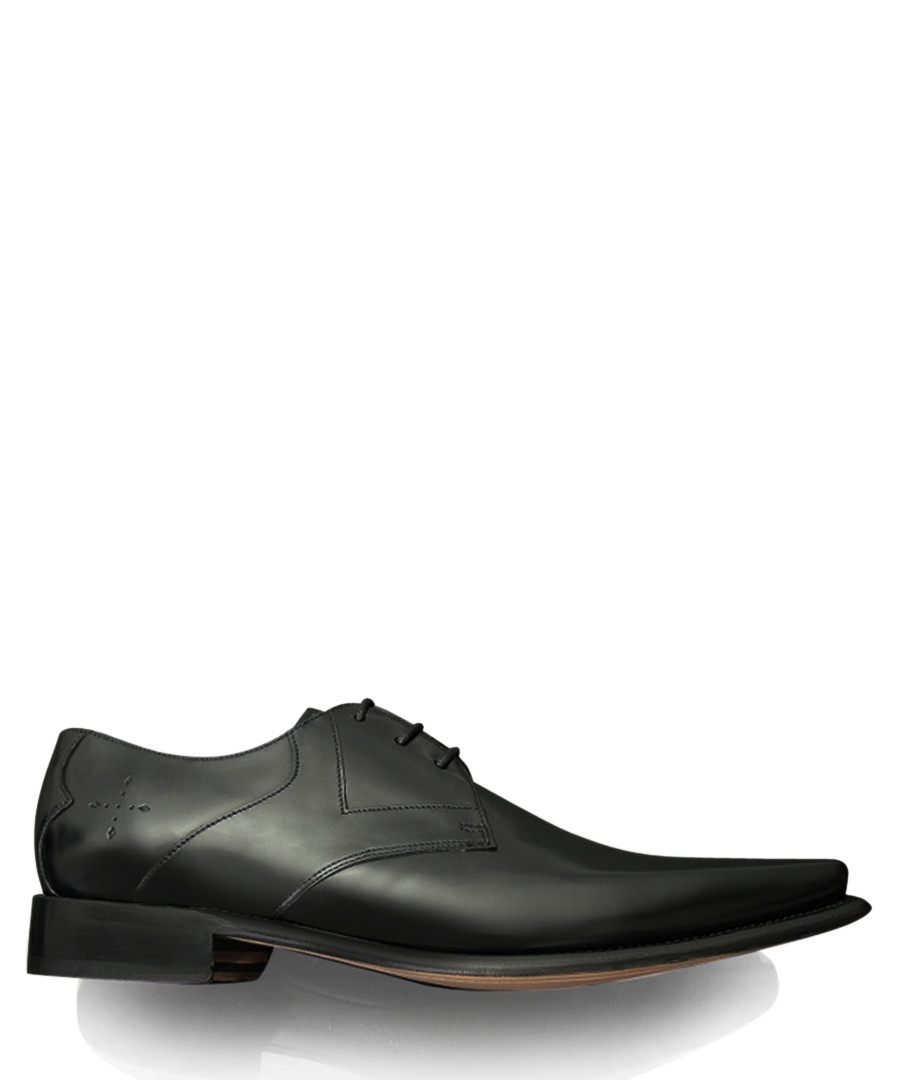 Hemmings Yardbird black leather shoes Sale - jeffery west