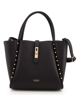 Shar black   gold-tone shoulder bag Sale - Carvela Sale 36a74cb884a8d