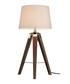 Bailey brown chrome tripod table lamp Sale - premier Sale