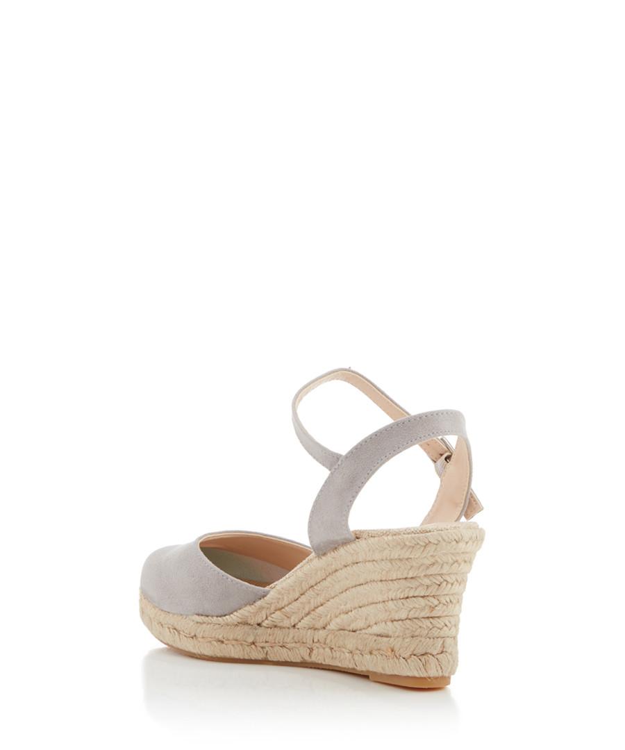 eaf4c7d637a ... Sabrina grey wedge mid heel sandals Sale - CARVELA ...