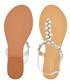 Bebe silver leather embellished sandals Sale - carvela Sale
