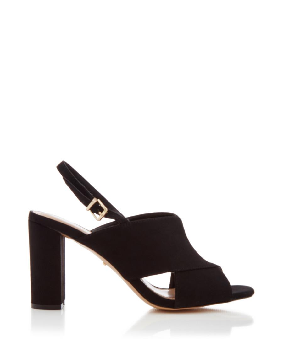 Arco black crisscross heeled sandals Sale - carvela