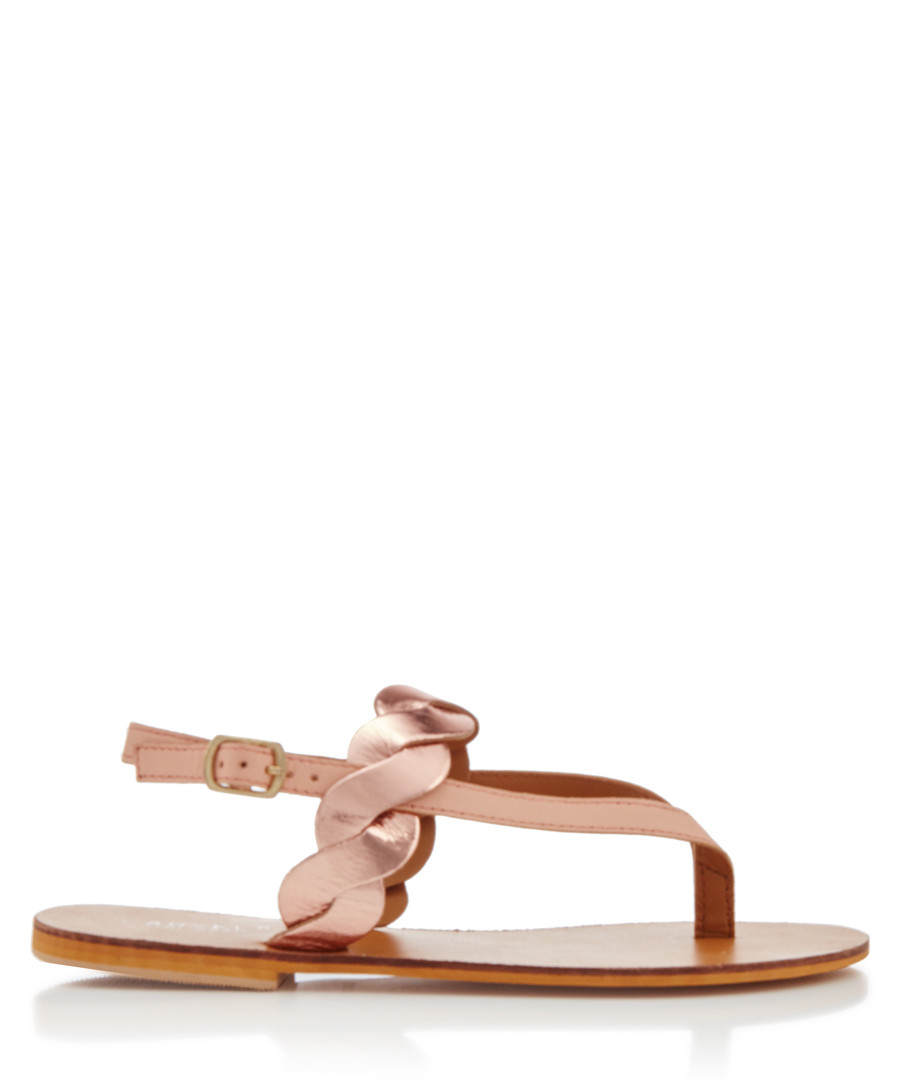 Aim nude braided sandals Sale - carvela