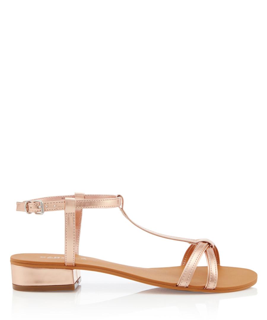 Bravo bronze strappy sandals Sale - carvela
