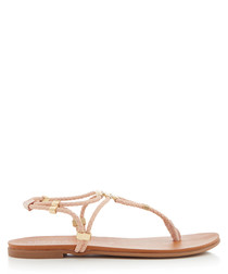 Ace nude strappy sandals