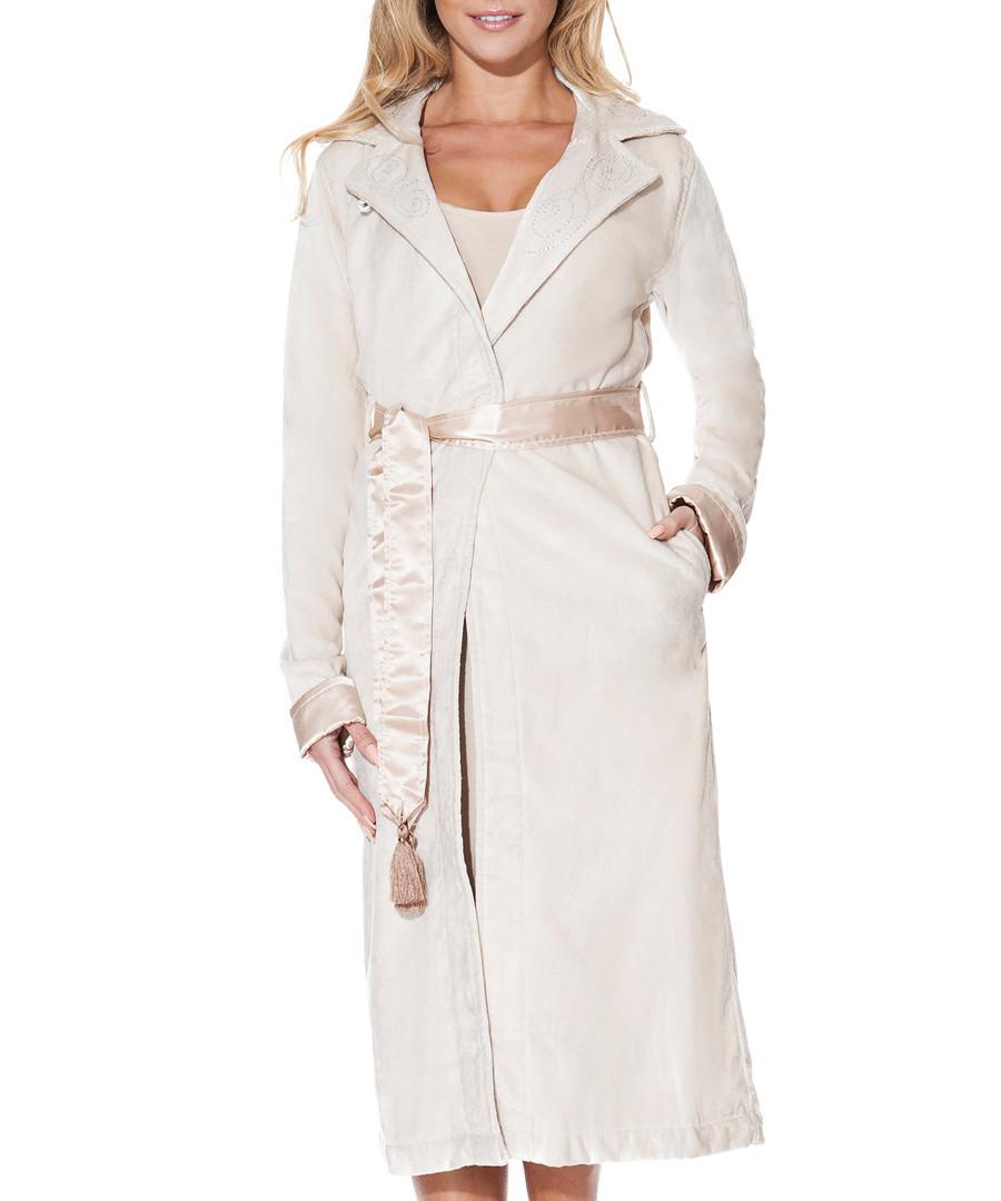 Discount Mink bamboo & cotton dressing gown | SECRETSALES