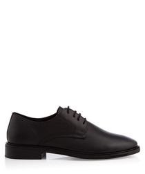 Tamworth black lace-up Derby shoes