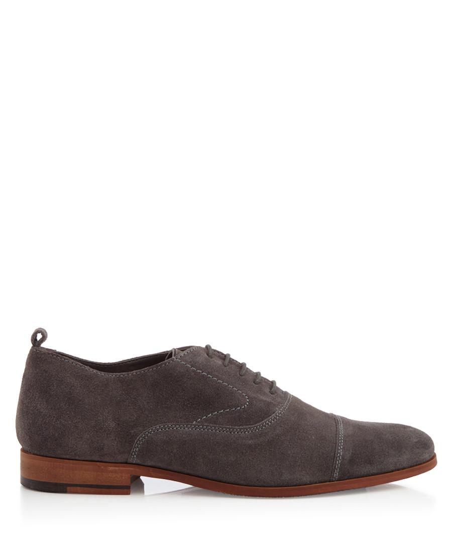 Topsham grey suede lace-up Oxfords Sale - KG MEN