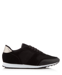 Warwick black & white sneakers