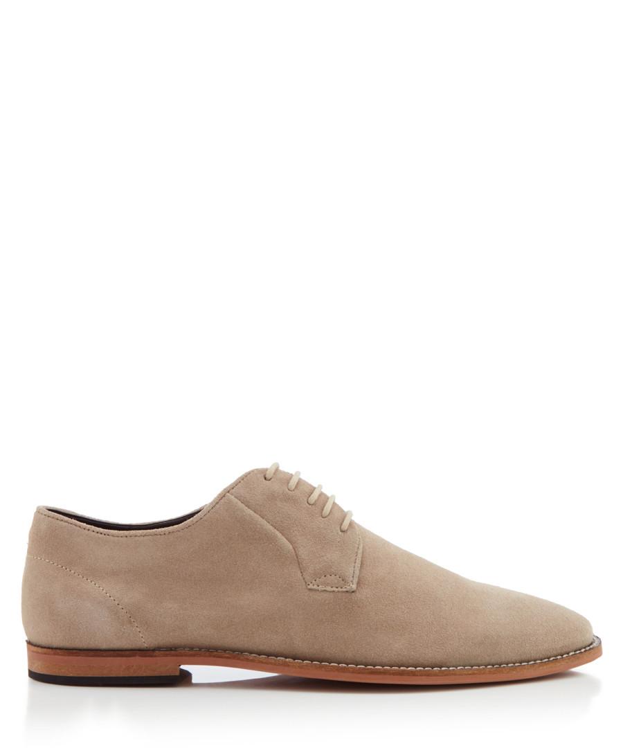 Tipton beige suede Derby shoes Sale - KG MEN
