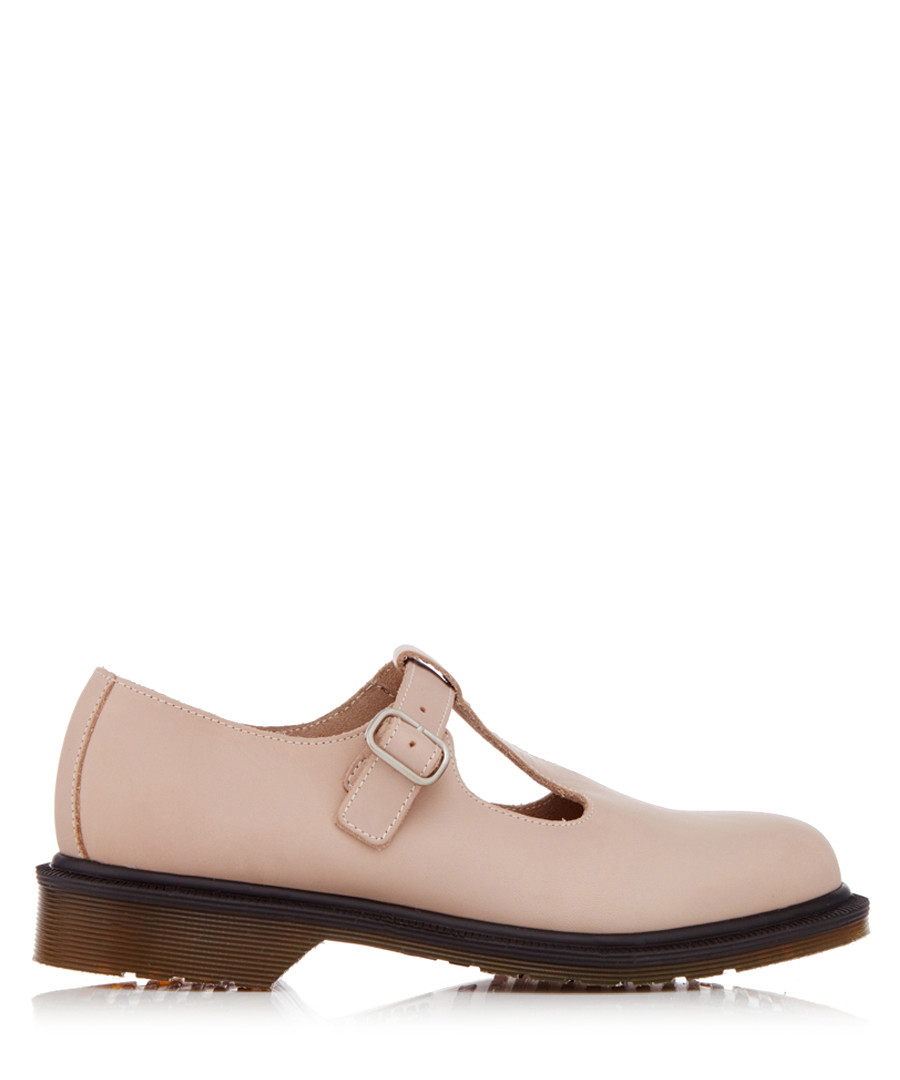 Felissa pink leather Mary Janes Sale - Dr. Martens