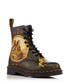 Unisex Pascal black leather print boots Sale - Dr. Martens Sale
