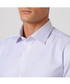 White & lilac pure cotton check shirt Sale - cloth by ermenegildo zegna Sale