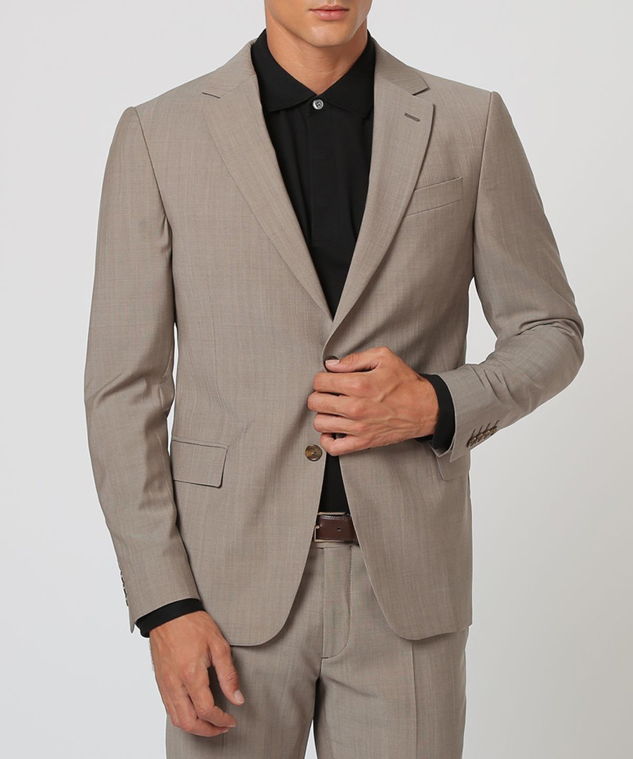 2pc pearl grey pure wool suit Sale - cloth by ermenegildo zegna