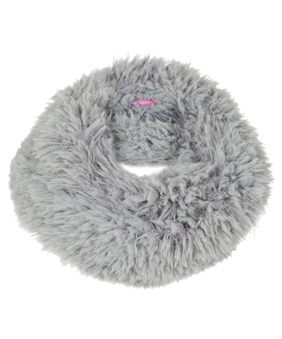 a577e0d5388 Grey faux-fur infinity scarf Sale - Alice Hannah