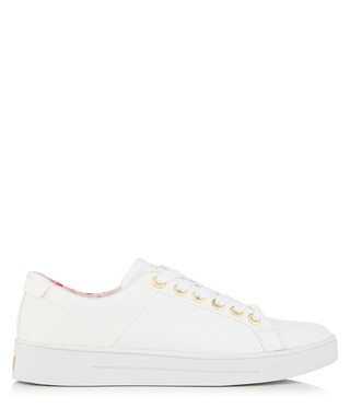 eef7be331ce71 Ted Baker. Women s Ophily white leather sneakers