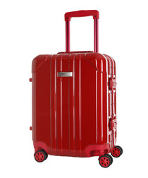 Keihley red spinner suitcase 46cm