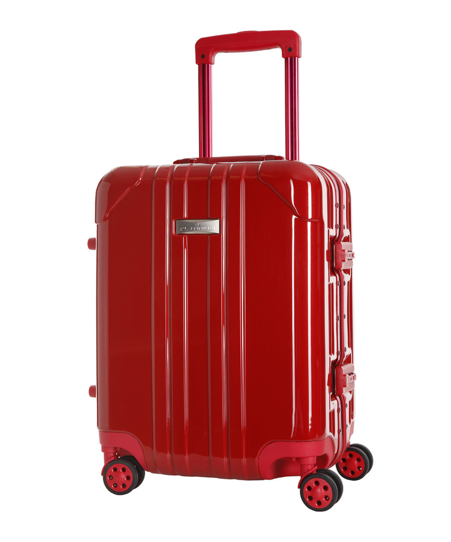 Keihley red spinner suitcase 66cm Sale - platinium