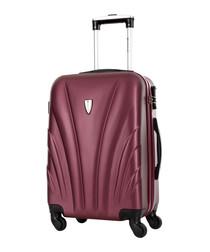 Delfino Bordeaux spinner suitcase 60cm