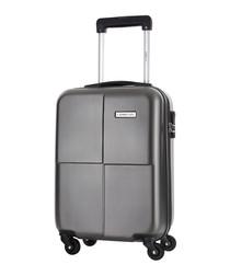 Century grey spinner suitcase 46cm