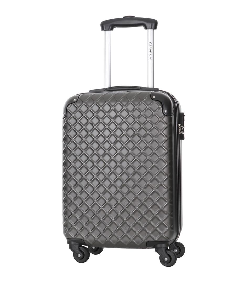 Centaur grey spinner suitcase 48cm Sale - cabine size