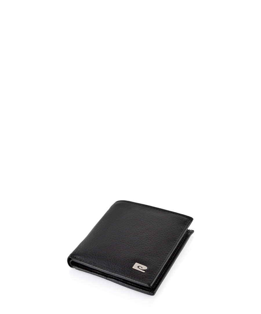 Black leather wallet Sale - hautton