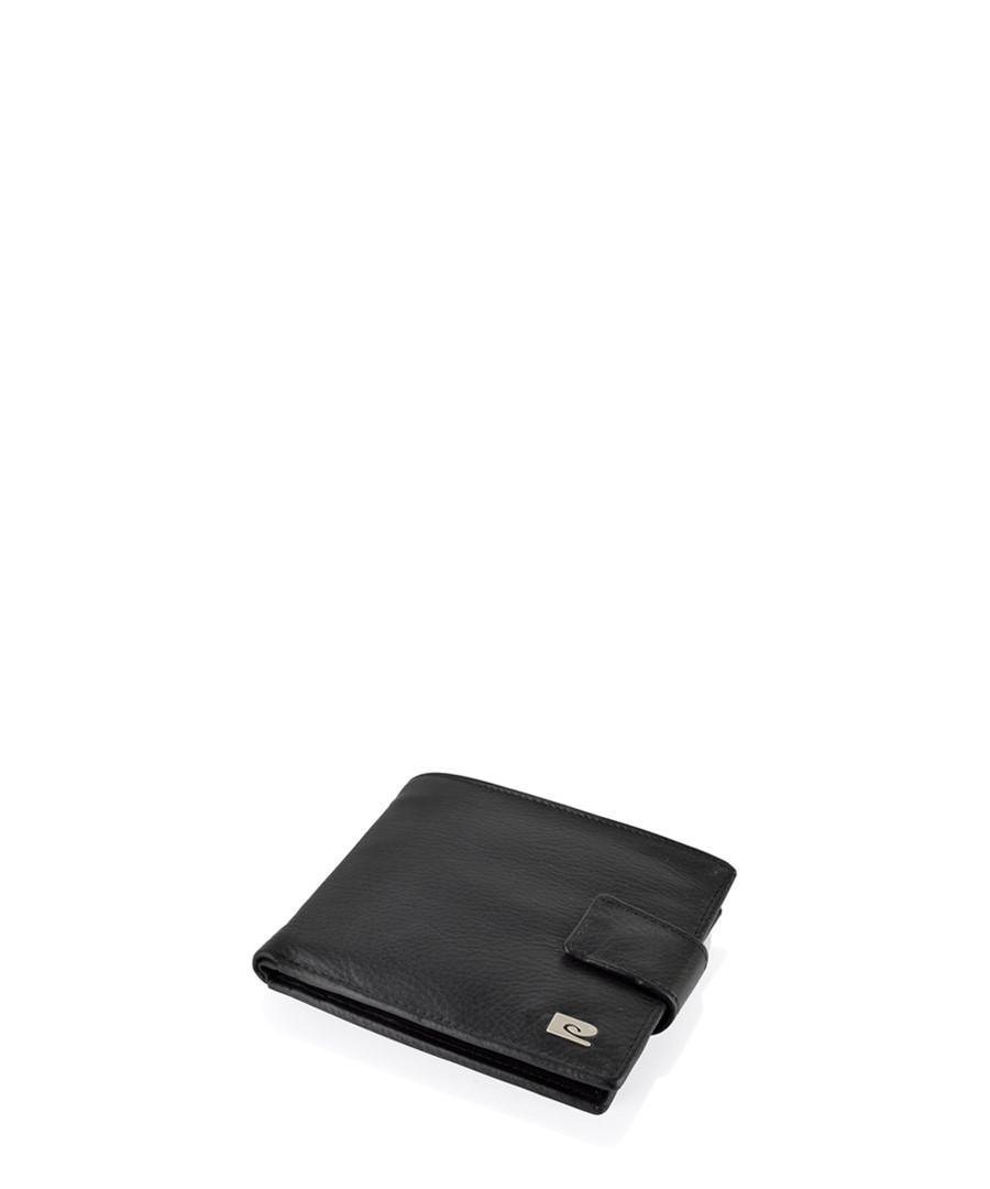 Black leather clip fastening wallet  Sale - pierre cardin