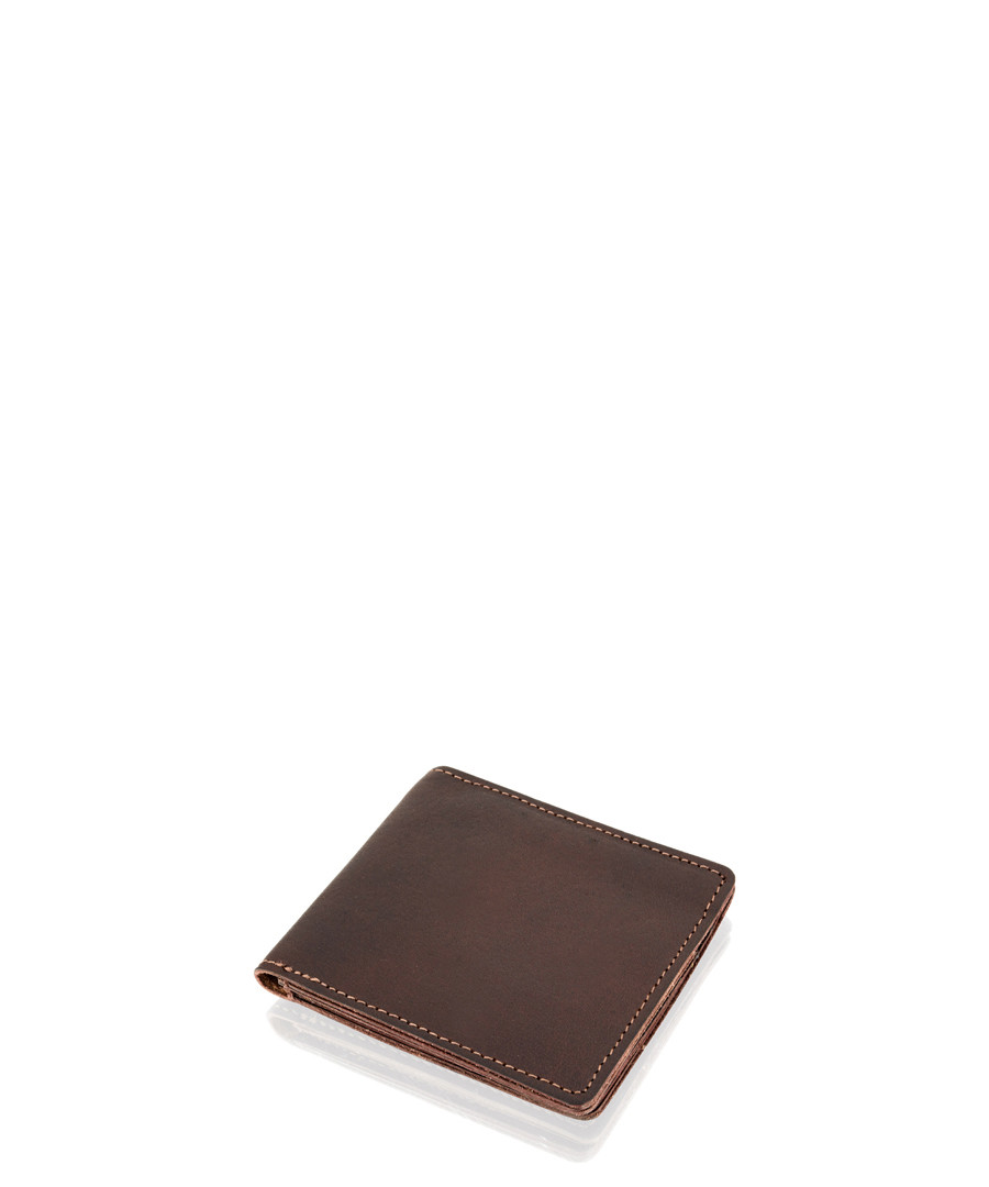 Burgundy leather wallet Sale - woodland leathers
