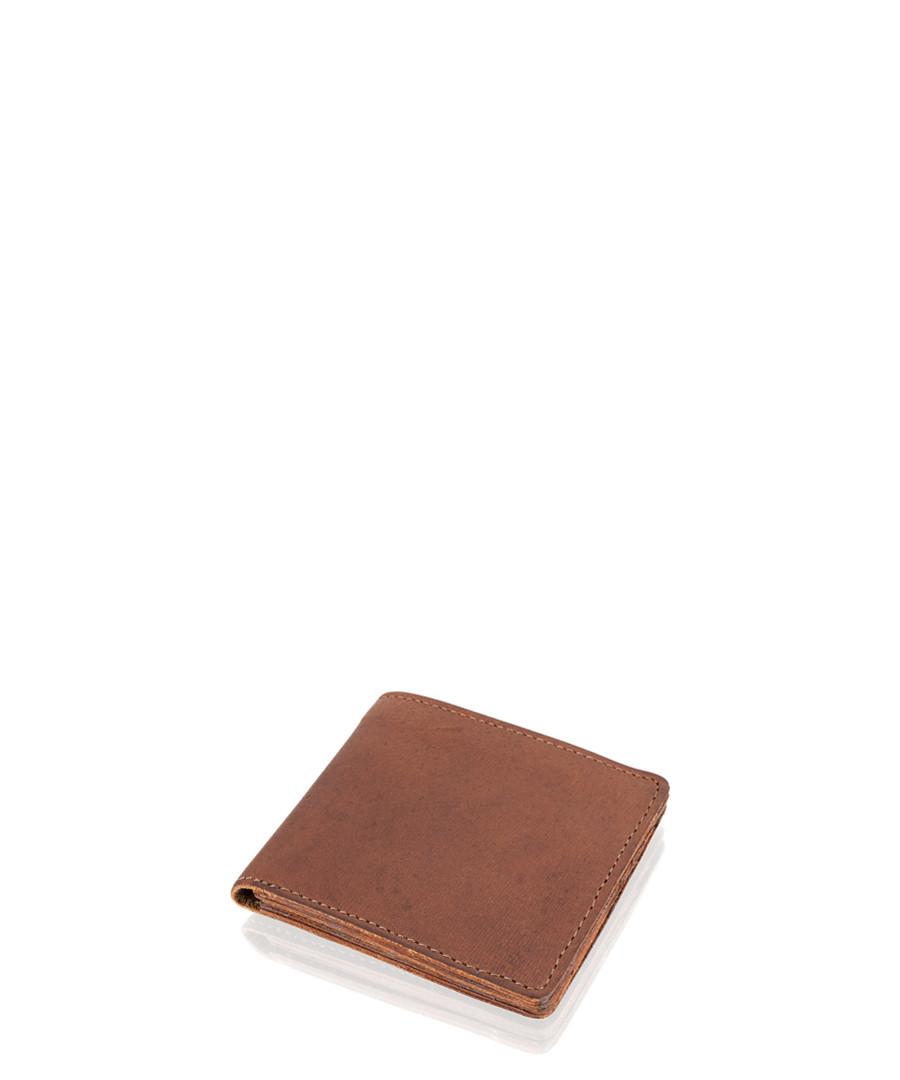 Tan leather wallet Sale - woodland leather