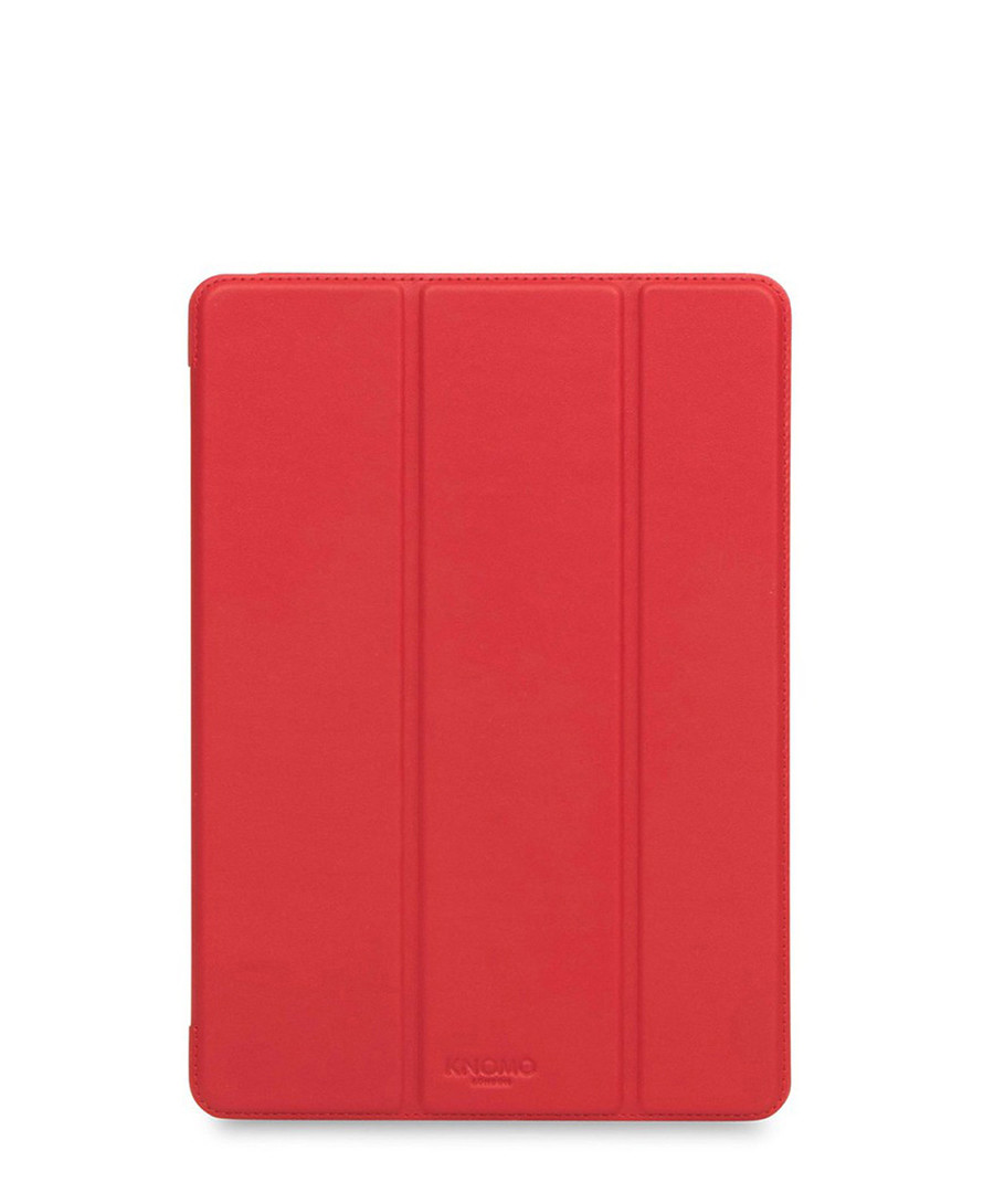 Red iPad Pro tri fold folio case  Sale - knomo