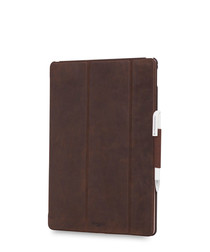 Brown iPad Pro Tri fold folio case