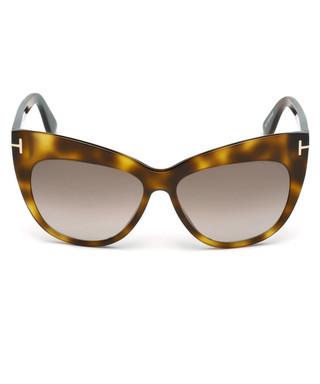 d7e094b4fab Nika Havana cat eye sunglasses Sale - TOM FORD Sale