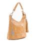 Tan leather swirl shoulder bag Sale - anna morellini Sale