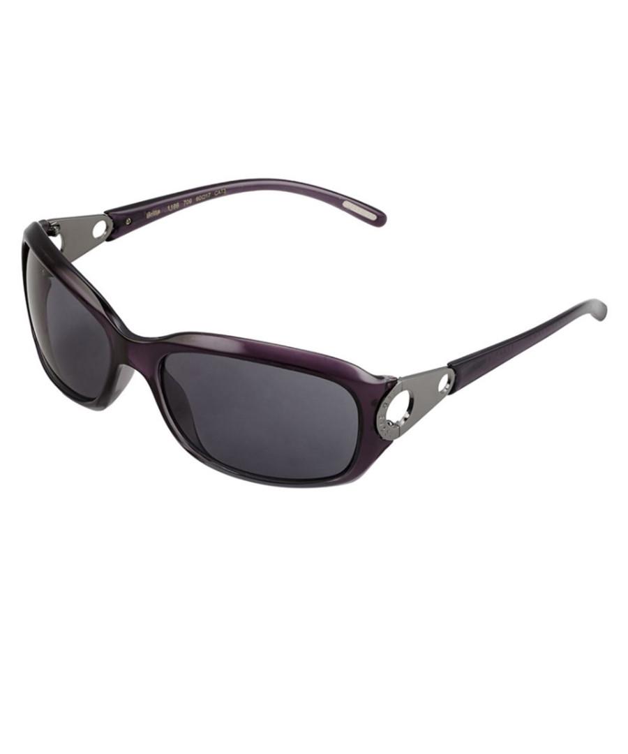 61cfcd29978 Britta purple visor sunglasses Sale - Ted Baker