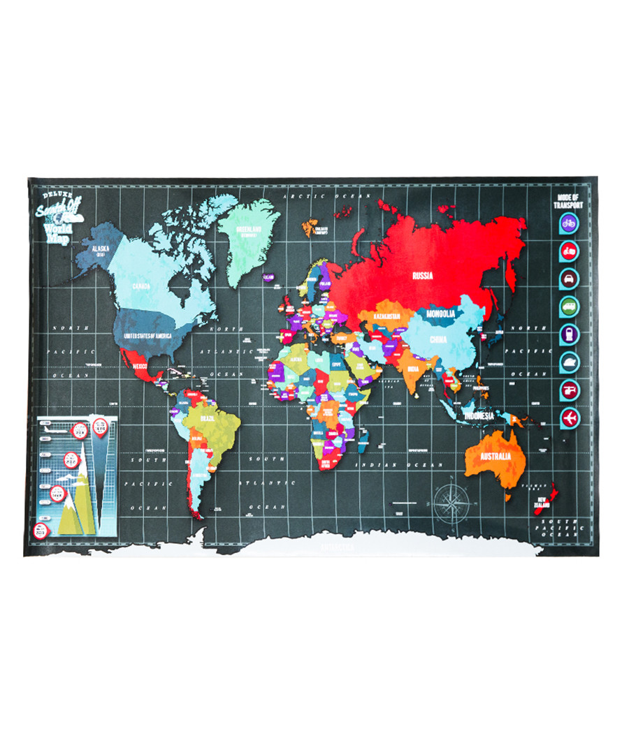 Discount 2pc scratch the world map pen set secretsales 2pc scratch the world map pen set sale scratch map gumiabroncs Images