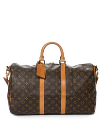 Keepall Bandouliere 45 brown holdall