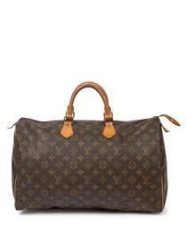 Speedy 40 brown canvas grab bag