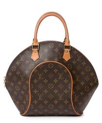 Ellipse GM brown canvas grab bag