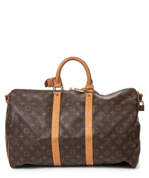 Keepall Bandouliere 45 canvas holdall