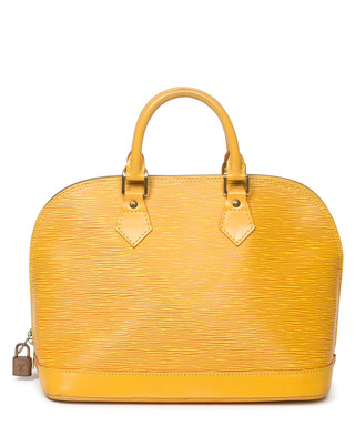 3e249bedc867 Alma PM yellow Epi leather grab bag Sale - Vintage Louis Vuitton Sale