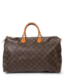 Speedy 40 brown canvas carryall