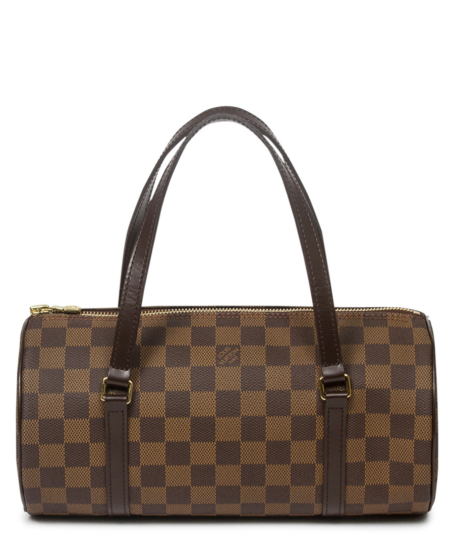 Papillon 26 brown canvas grab bag Sale - Vintage Louis Vuitton