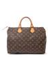 Speedy 35 brown canvas grab bag Sale - vintage louis vuitton Sale